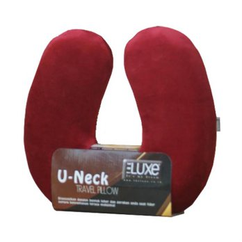 THE LUXE U-NECK MEMORYFOAM-RED / BANTAL / BANTAL LEHER