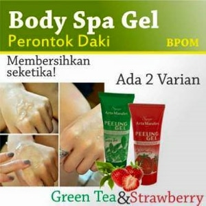 Body Spa Gel BPOM Original - Peeling Gel - Perontok Daki