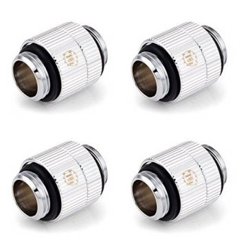 [macyskorea] Touchaqua G1/4 Male to Male Extender Fitting, Rotary, Glorious Silver, 4-pack/15838829