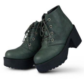 [Paperplanes] Korean Style Women Boots High Heel Walker Heel Winter Boots Casual Comfy Shoes PP1704