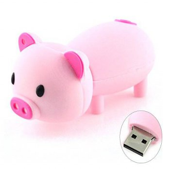 [macyskorea] AreTop 16GB Cute Pig Piggy USB Flash Drive (Light Pink)/15891334