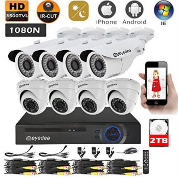 [macyskorea] Eyedea 1080N DVR 3500TVL 1.3MP Megapixel 960P Camera AHD Remote Phone View Mo/16210647