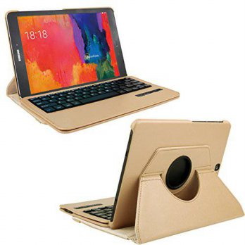[macyskorea] Samsung Galaxy Tab S2 9.7 Keyboard Cover, KVAGO Stylish 360 Degree Rotating S/15772641