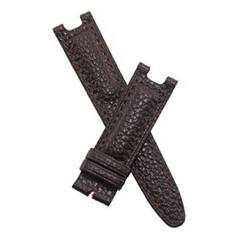 [macyskorea] Watch Strap World 19mm Dark Brown Buffalo Grain Genuine Leather Pin Buckle Wa/16133527