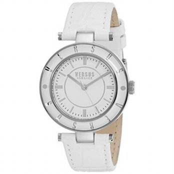 [macyskorea] Versus by Versace Womens SP8120015 Logo Analog Display Quartz White Watch/16133461