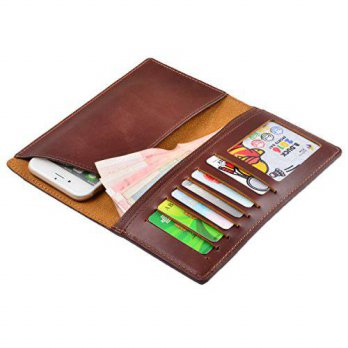 [macyskorea] TIANHOO Mens Long Bifold Wallet Genuine Leather Passport Cover/15889946