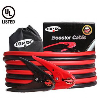 [macyskorea] TOPDC UL-Listed 100 Copper Heavy Duty Booster Jumper Cables 4 Gauge 500AMP 12/16109338