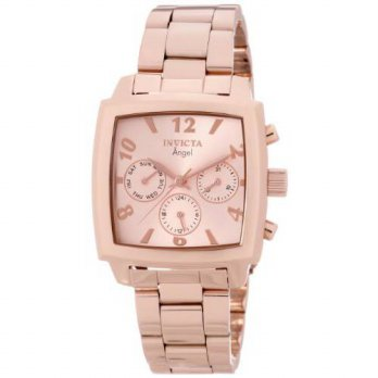 [macyskorea] Invicta Womens 12102 Angel Rose Dial 18k Rose Gold Ion-Plated Stainless Steel/15712441