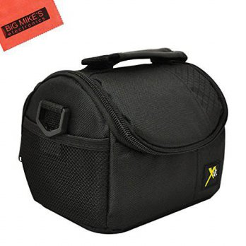 [macyskorea] Big Mikes Deluxe Soft Small Camcorder Case For Sony HDR-AS100V, HDR-CX240, HD/16210272