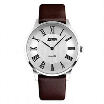 [macyskorea] CakCity Mens Roman Numeral Stainless Steel Quartz Analog Wrist Business Watch/15778964