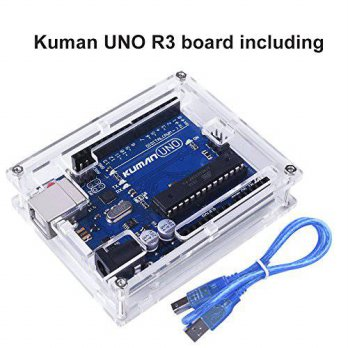 [macyskorea] For Arduino, Kuman Uno R3 board ATmega328P with USB Cable+ Uno R3 Case Enclos/15891926