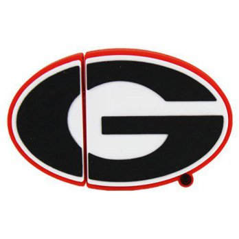 [macyskorea] Flashscot NCAA Georgia G Shape USB Drive, Georgia, 16GB/15891958