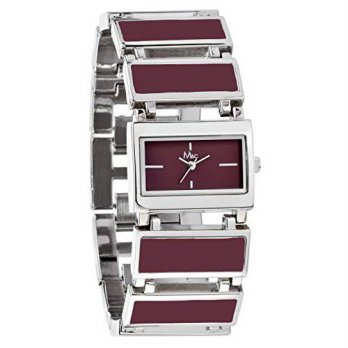 [macyskorea] M&c Womens | Sophisticated Modern Burgundy Watch with Self-Adjustable Braclet/15779194