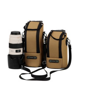 [globalbuy] High Quality The Camera Lens Of The Receive Bag Portable Khaki Action Camera A/3688621