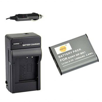 [macyskorea] DSTE NP-BK1 Battery + DC16 Travel and Car Charger Adapter for Sony Bloggie MH/16074657