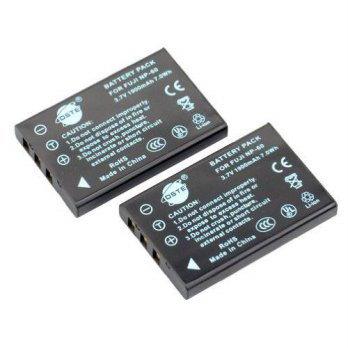 [macyskorea] DSTE 2x NP-60 Replacement Li-ion Battery for Fujifilm Finepix 50i 601 F401 F4/16074662