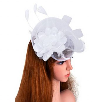 [macyskorea] Aniwon Womens Fascinator Hair Hoop Cocktail Hat With Feather Flower/14726228