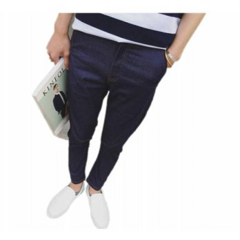 [globalbuy] jeans > in the summer of 2016 Mens feet pants pure color jeans Cultivate ones /4203748