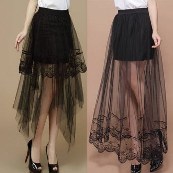 [globalbuy] 2016 lace half full skirt summer our lace skirt skirt fashion female skirtskir/4198093