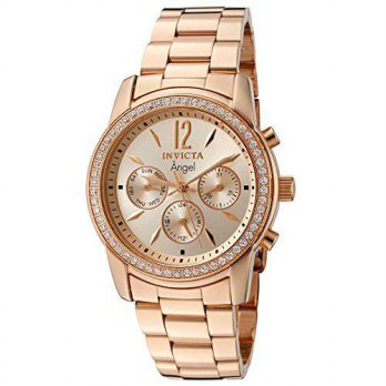 [macyskorea] Invicta Womens 11774 Angel Rose Tone Dial 18k Rose Gold Ion-Plated Stainless /15779020