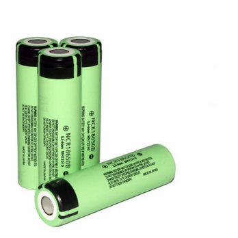 [globalbuy] 4 pcs/lot 2015 New Original 18650 NCR18650B Rechargeable Li-ion battery 3.7V 3/3688492