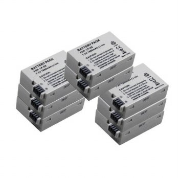 [globalbuy] New ( 8 pieces / lot ) Replace LP-E8 Battery For 600d 650d 700d Kiss X7i T4i T/3688498