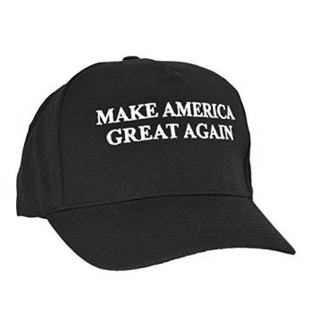 [macyskorea] DALIX Donald Trump MAKE AMERICA GREAT AGAIN Hat Cotton Twill Cap in Black/14709755