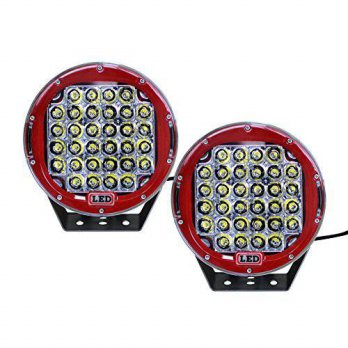 [macyskorea] Nilight 2PCS 96w 9 Inch Red Spot Round Led Work Light Bar Off Road Lights Fog/15830183