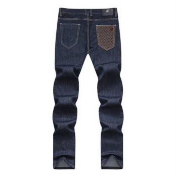 [globalbuy] Angelo Galasso man straight jeans 2016 new fashion 100 cotton comfortable busi/4203605