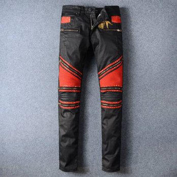 [globalbuy] 2016 New rock jeans men Elastic Slim denim Jeans high fashion designer famous /4203382