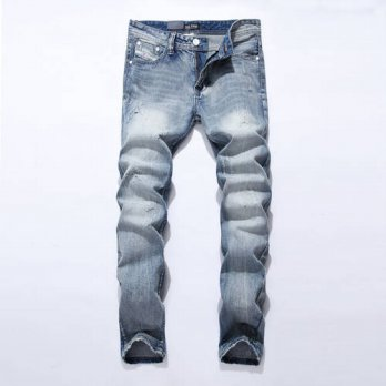 [globalbuy] Fashion leisure Jeans Men Famous China Brand Blue Jeans Trousers Male Denim St/4203327