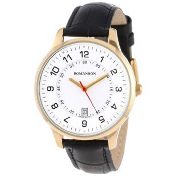 [macyskorea] Romanson Mens TL0386MM1GA11G Modern Swiss Quartz Date Function Watch/15779307