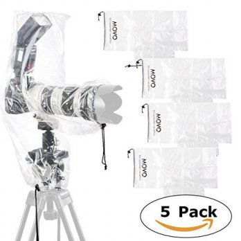 [macyskorea] Movo (5 Pack) RC2 Clear Rain Cover for DSLR Camera, Flash, and Lens up to 18 /15892918