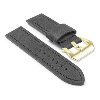 [macyskorea] DASSARI Sierra Vintage Aged Leather Watch Band for Panerai w/ PVD Yellow Gold/15779415