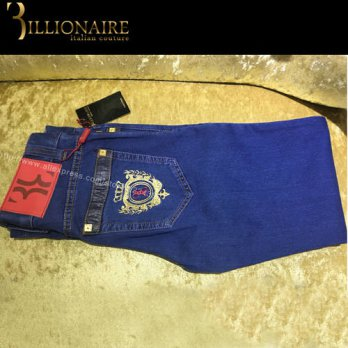 [globalbuy] 2016 New arrival Billionaire Italian Couture straight famous brand jean new pa/4203191