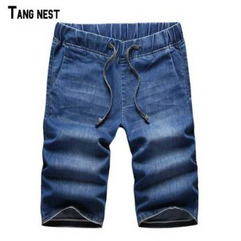 [globalbuy] TANGNEST Short Jeans 2016 New Fashion Summer Mens Thin Short Jeans Soft Breath/4203195