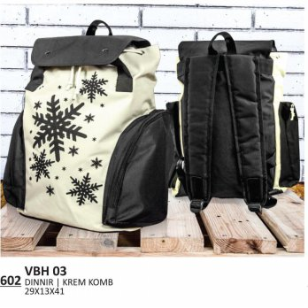 EVERFLOW | TAS RANSEL / BACKPACK KASUAL UNISEX - VBH 03