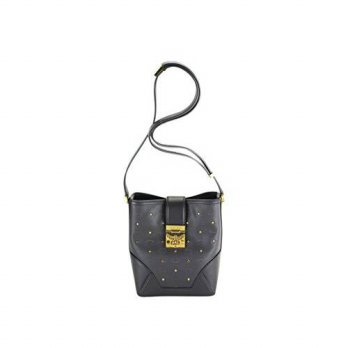 [macyskorea] MCM Mcm Womens Claudia Studs Shoulder Bag - Black Leather/15180773