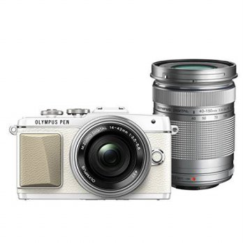 [macyskorea] Olympus PEN Lite E-PL7 (White) with 14-42mm EZ and 40-150mm Lens (Silver) - I/15849676