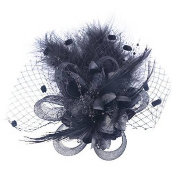 [macyskorea] Fascigirl Feather Hair Clip Fascinator Wedding Headwear Bridal Headpiece for /15138264
