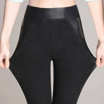 [globalbuy] pantalon femme 2016 Autumn and Winter Women pants Female Pencil Trousers panta/4197369