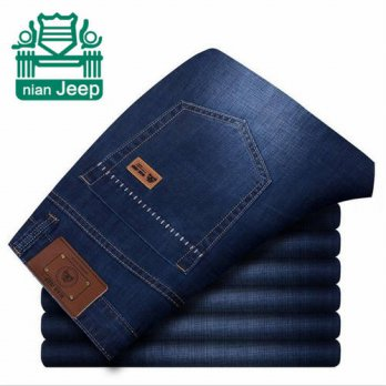 [globalbuy] NIAN AFS JEEP Classic top designer famous brand straight men jeans fashion Eur/4203089