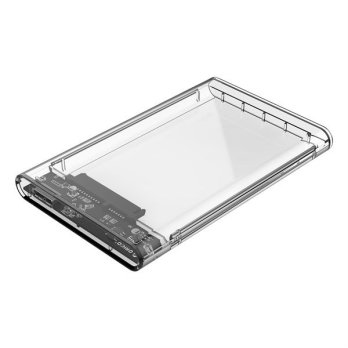 Orico 2139U3 2.5 inch SATA USB 3.0 Enclosure Transparent