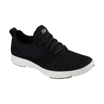Sepatu Olahraga Lari Gym Fitness Sneakers Skechers Men's Moogen Holder – Black 65149BKW