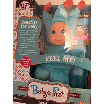 [macyskorea] BF Babys First Doll BLUE Newborn Minky Goldberger Rattle Washable 10/12399363