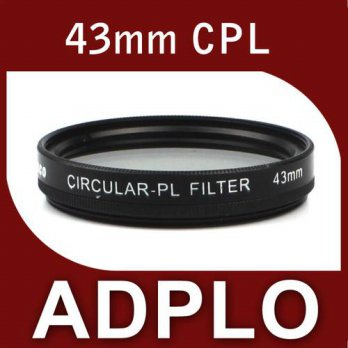 [globalbuy] Pixco 43mm CPL Polarizing Lens Filter Suit for Canon Nikon Pentax Sigma Olympu/3687525