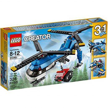 [macyskorea] The LEGO LEGO Creator Twin Spin Helicopter Building Set, 31049/13547625