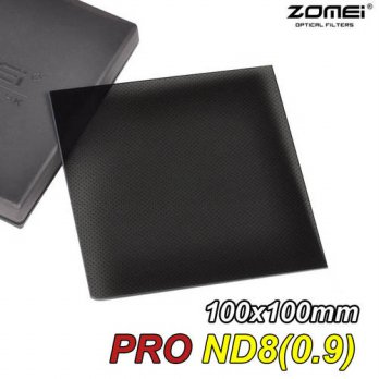[globalbuy] Zomei 100mm Square Filter ND8 PRO Optical Glass 100x100mm 3-stop ND0.9 ND Filt/3687480