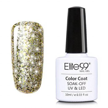 [macyskorea] Elite99 Soak Off Starry Gel UV LED Gel Nail Polish Top Base Coat Manicure 10m/12274677