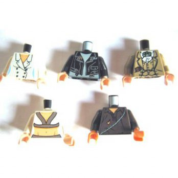 [macyskorea] LEGO Lego Indiana Jones - 5 Different Torso: Willie Scott, Mutt Williams, Cem/13071129